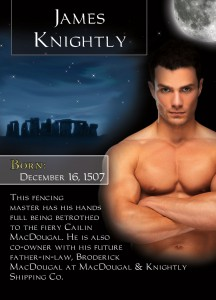 James Knightly - Midnight Captive of the Bonded By Blood Vampire Chronicles