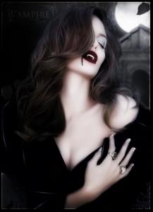 Angelina Jolie - Vampire by Kervin R