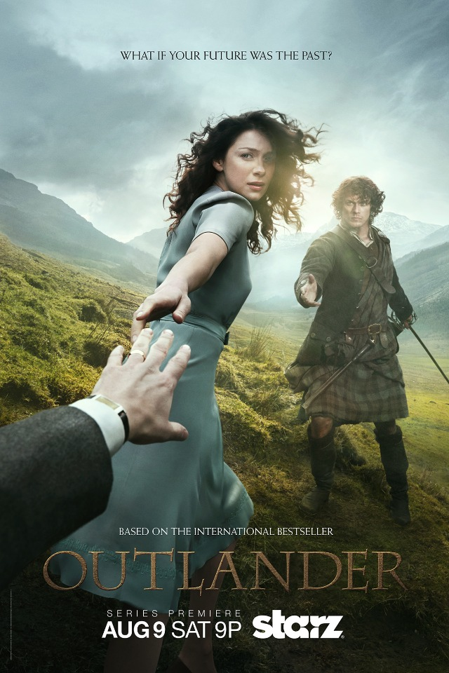 Outlander Premier based on Diana Gabaldon's internationally bestselling novels