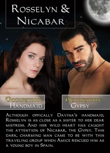 Bonded By Blood Characters - Rosselyn & Nicabar