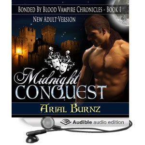 Midnight Conquest - New Adult Version - Audiobook Cover