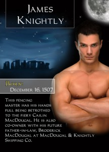 Bonded By Blood Characters - James Knightly