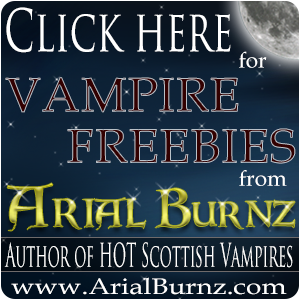 Arial Burnz - Author of Hot Scottish Vampires
